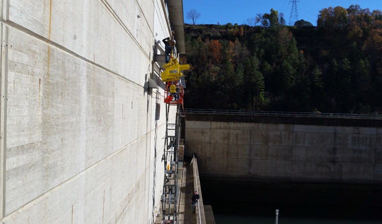 Replacement of Monorail Hoist, Greers Ferry